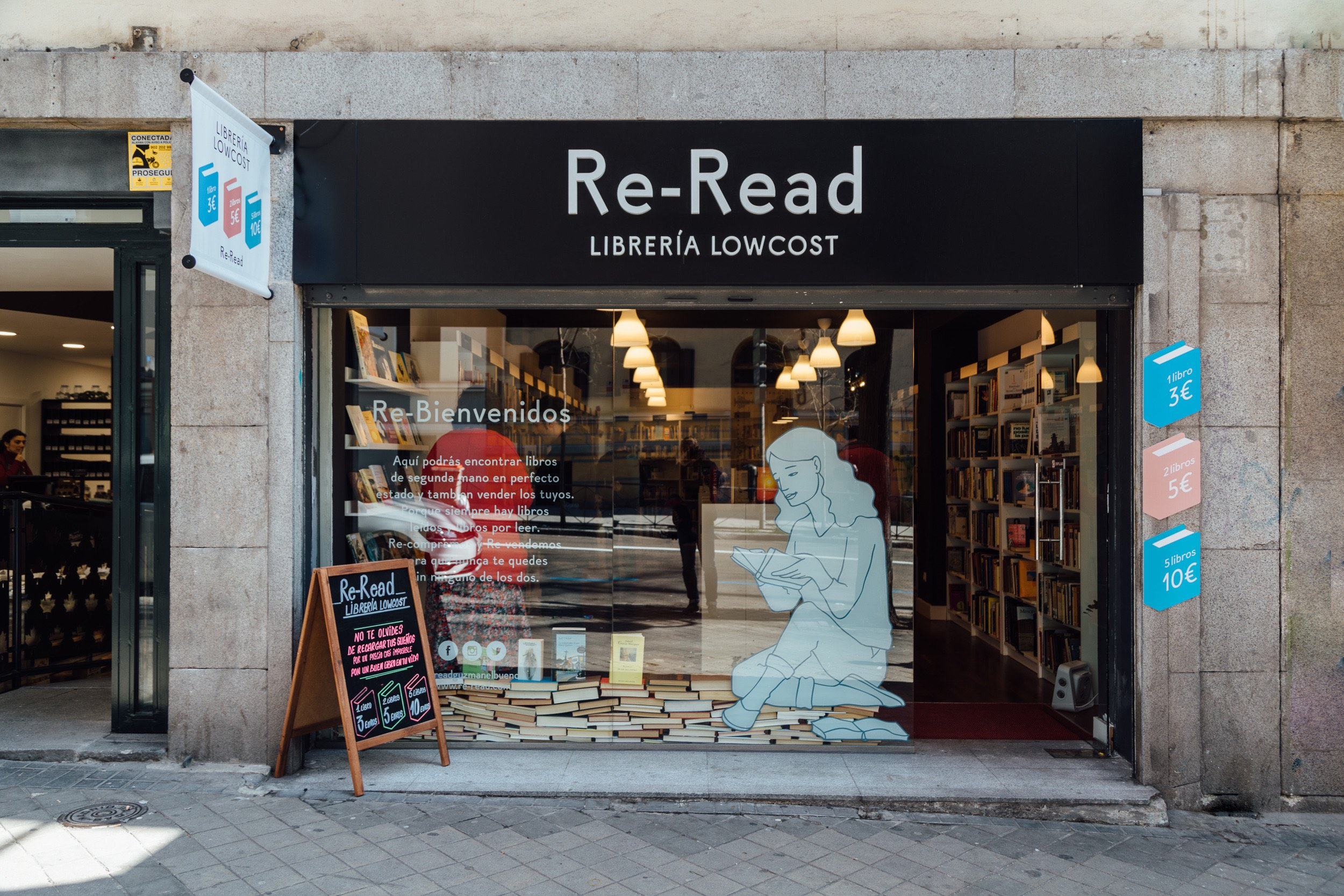 Re-Read - librerías de Madrid